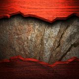 Wood on the wall Stock Photos