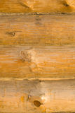 Wood wall. New wood wall from beam stock photography