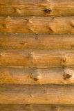 Wood wall. New wood wall from beam stock photos