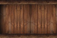 Wood Wall Backdrop. Brown Wood Wall Backdrop. Wood Background Stock Images
