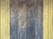 Wood wall background. Old painted wood wall background Royalty Free Stock Photos