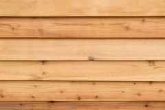 Wood wall background. Striped pattern. Wooden texture. Stock Photos