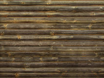 Wood wall background. Surface brown Stock Images
