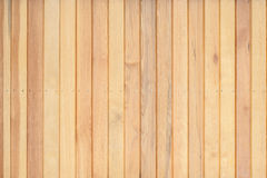 Wood Wall For  background Royalty Free Stock Photo