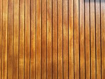 Wood wall background for texture. Wood wall background texture brown polish Royalty Free Stock Photography