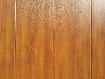 Wood texture. Wood wall background texture brown polish Royalty Free Stock Photo
