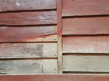 Wood wall background. The walls are made of wood Stock Photography