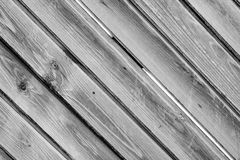 Wood. Wall black and white background royalty free stock photography