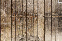 Wood wall. Distressed and weathered wood wall Royalty Free Stock Image