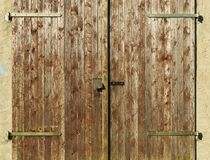 Wood, Wall, Door, Wood Stain Royalty Free Stock Photos