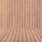 Wood wall and flooring texture and background seamless Royalty Free Stock Image