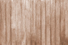 Wood wall light brown background texture. Stock Images
