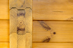 Wood wall (Pine)  Stock Photos