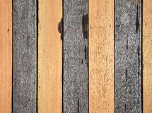 Wood wall. Vertical wood wall with dark and yellow colour stock photo