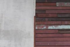 Wood wall. Vintage on background Stock Image