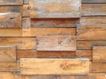 Wood wall. The wood wall in vintage style Royalty Free Stock Image