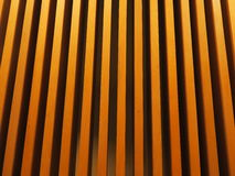 Wood wall. Wallpaper yellow and brown shadow Stock Photography