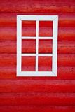 Wood wall and window Stock Photography