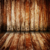 Wood walls and floor Stock Photography