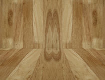 Wood walls on floor background Royalty Free Stock Photography