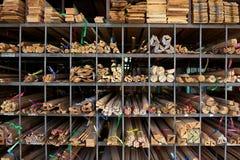 Wood warehouse Royalty Free Stock Photo