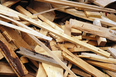 Wood waste Stock Photos