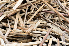 Wood Waste Royalty Free Stock Images
