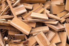 Wood waste backgound Stock Photos