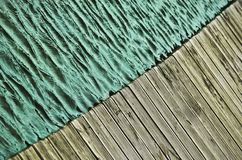 Wood and water Stock Images