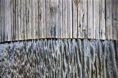 Wood and water Stock Photos