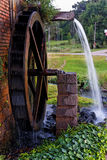 Wood Water Mill Stock Image
