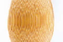 Wood waves. Over white background Royalty Free Stock Photo
