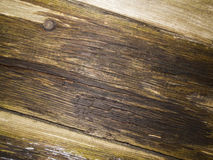 Wood weather beaten slanting Royalty Free Stock Photo