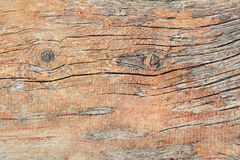 Wood weathered plank brown texture background. Stock Photography