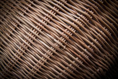 Wood weave. The basket weave wooden floor after taking a minute Royalty Free Stock Images