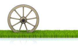 Wood wheel Stock Photography