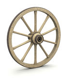 Wood wheel Royalty Free Stock Photos