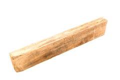 Wood on White Background Stock Photography