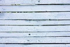 Wood white fence Stock Photo