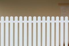 Wood white fence Royalty Free Stock Photo