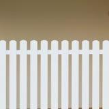 Wood white fence Stock Photography