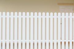 Wood white fence Royalty Free Stock Photos