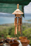 Wood wind bell instrument in Costa Rica Royalty Free Stock Photo