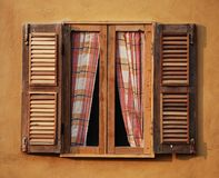 Wood Window Royalty Free Stock Photo