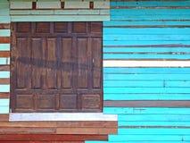 Wood window Stock Images
