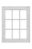 Wood window frame Stock Photos