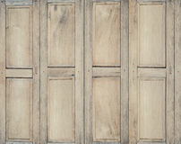 Wood window For home and architecture Royalty Free Stock Photo