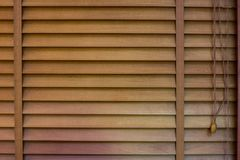 Wood Window shutters, texture of jalousie. Window shutters, Wooden horizontal blind. Background and texture of jalousie. Window decoration interior of room Royalty Free Stock Photos