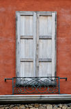 Wood window Stock Images