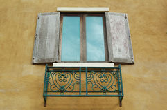 Wood windows Royalty Free Stock Photo